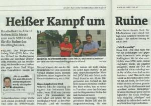 Bericht Bezirksblatt